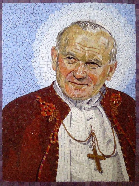 Saint_John_Paul_II_Mosaico_Arte_e_Mestieri_mosaic_art_mozaika_szklana